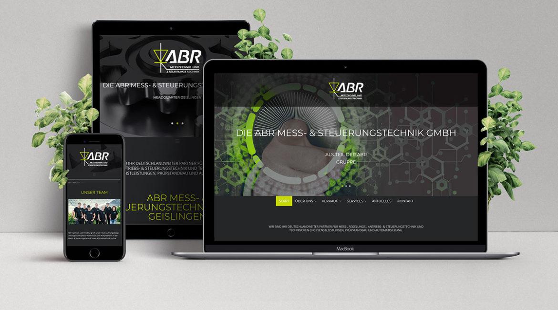 ABR Mess- und Steuerungstechnik Neue Homepage